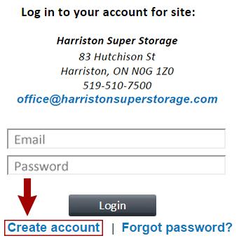 SiteLink-Create-Account